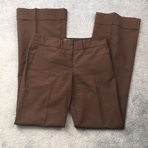 Bcbgmaxazria brown dress pants